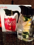 detox water, wellness, healthy, infusé