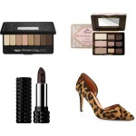 The Posh Blog, wish list, Nordstrom, NSale, Kat Von D, makeup, beauty, cosmetics, Halogen, leopard, heels, Too Faced